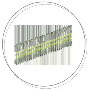 PÁSKOVANÉ KLINCE V PLASTE (21°)
